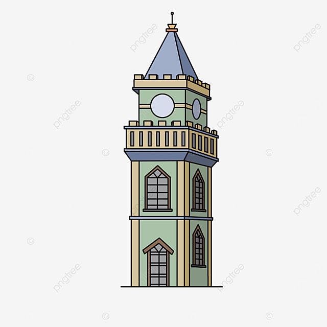 modern tower clip art
