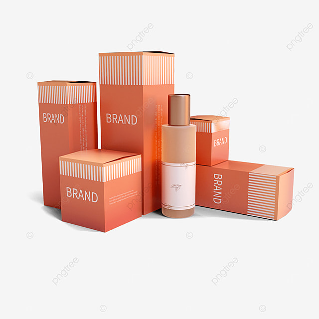 orange cosmetic environmental protection packaging