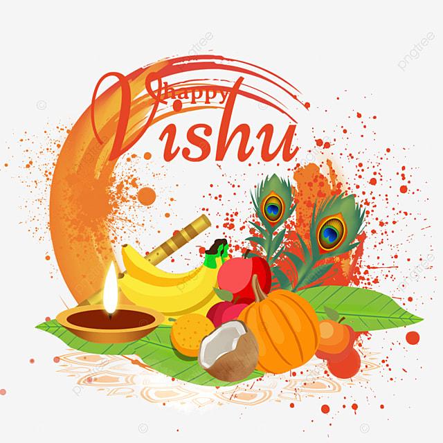 orange splatter brush india vishu festival silver utensils