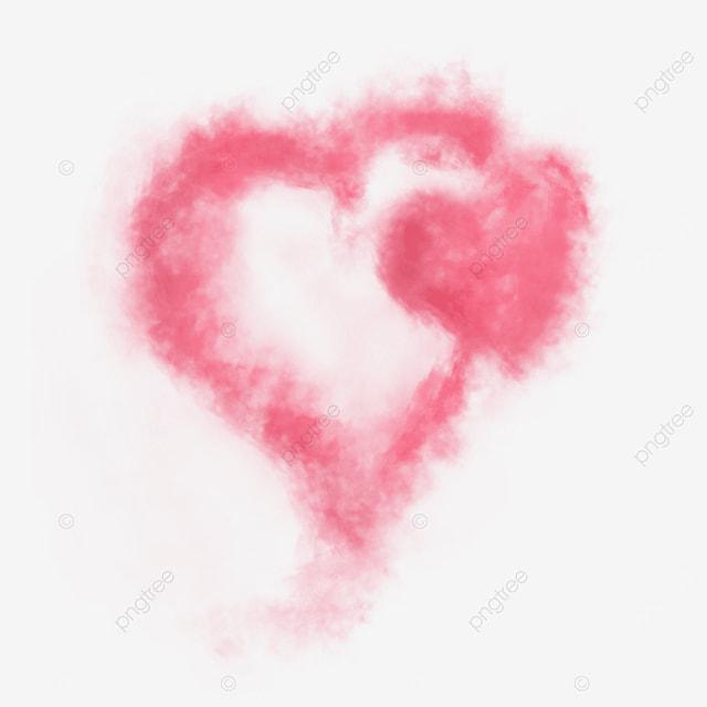 pink love smoke cigarette