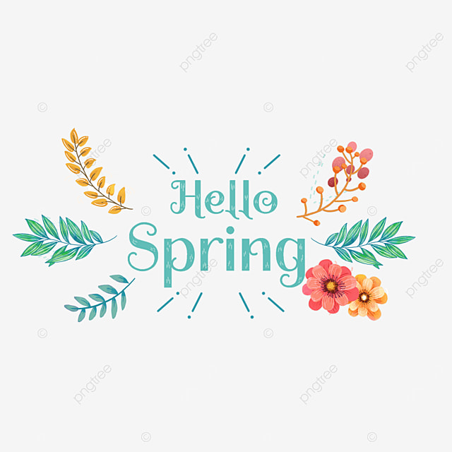spring all things recovery font svg