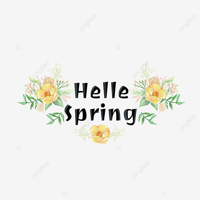 spring is full of spring font svg