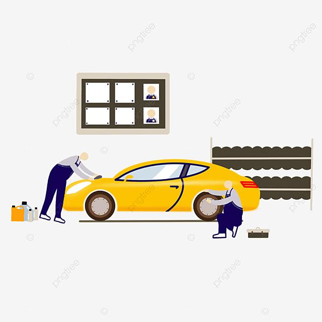 car repair and beauty service
