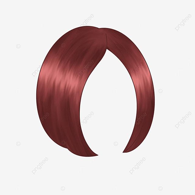 workplace women short hair wig clip art