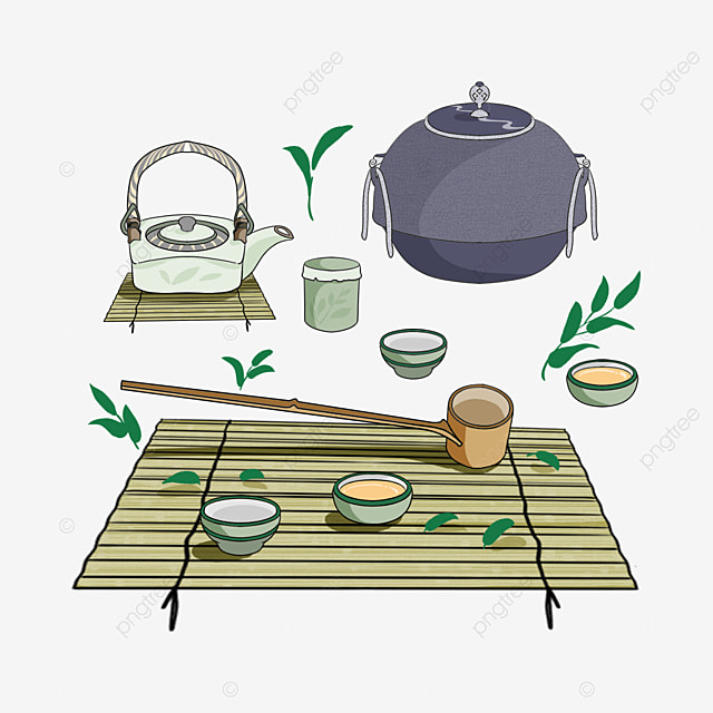 classic tea set japanese teapot and cup