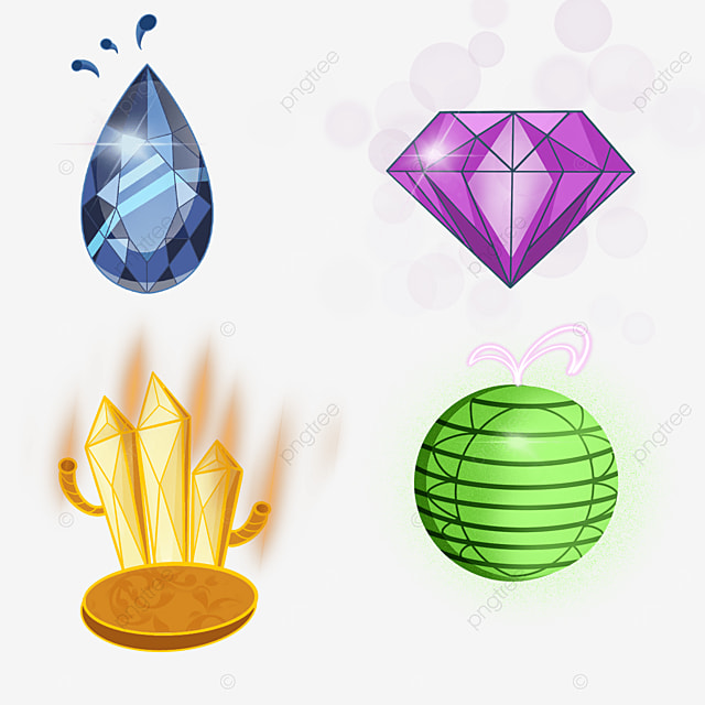 game jewelry gem diamond crystal mineral light effect button