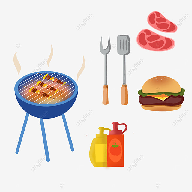 outdoor barbecue clipart