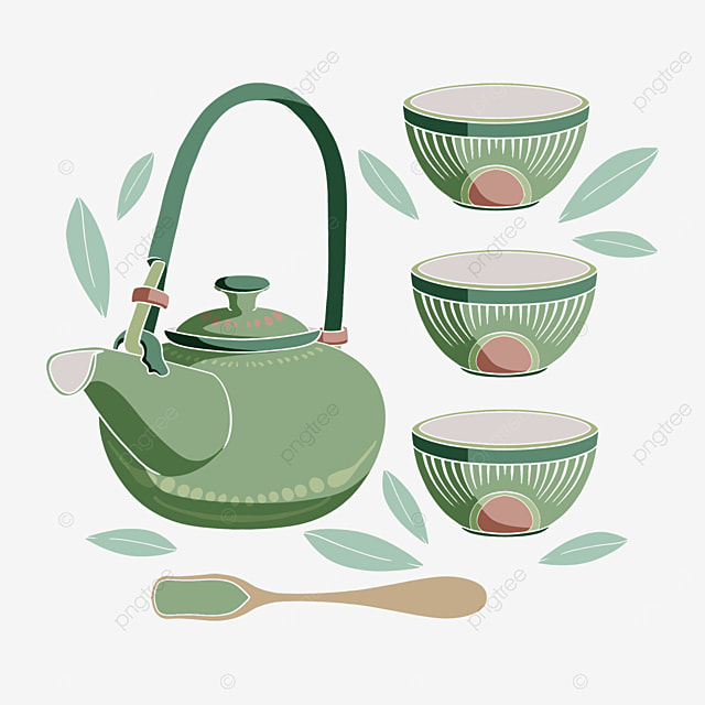 tea ceremony culture japanese teapot and cup