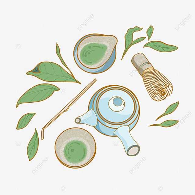 traditional matcha tea set japanese teapot and cup