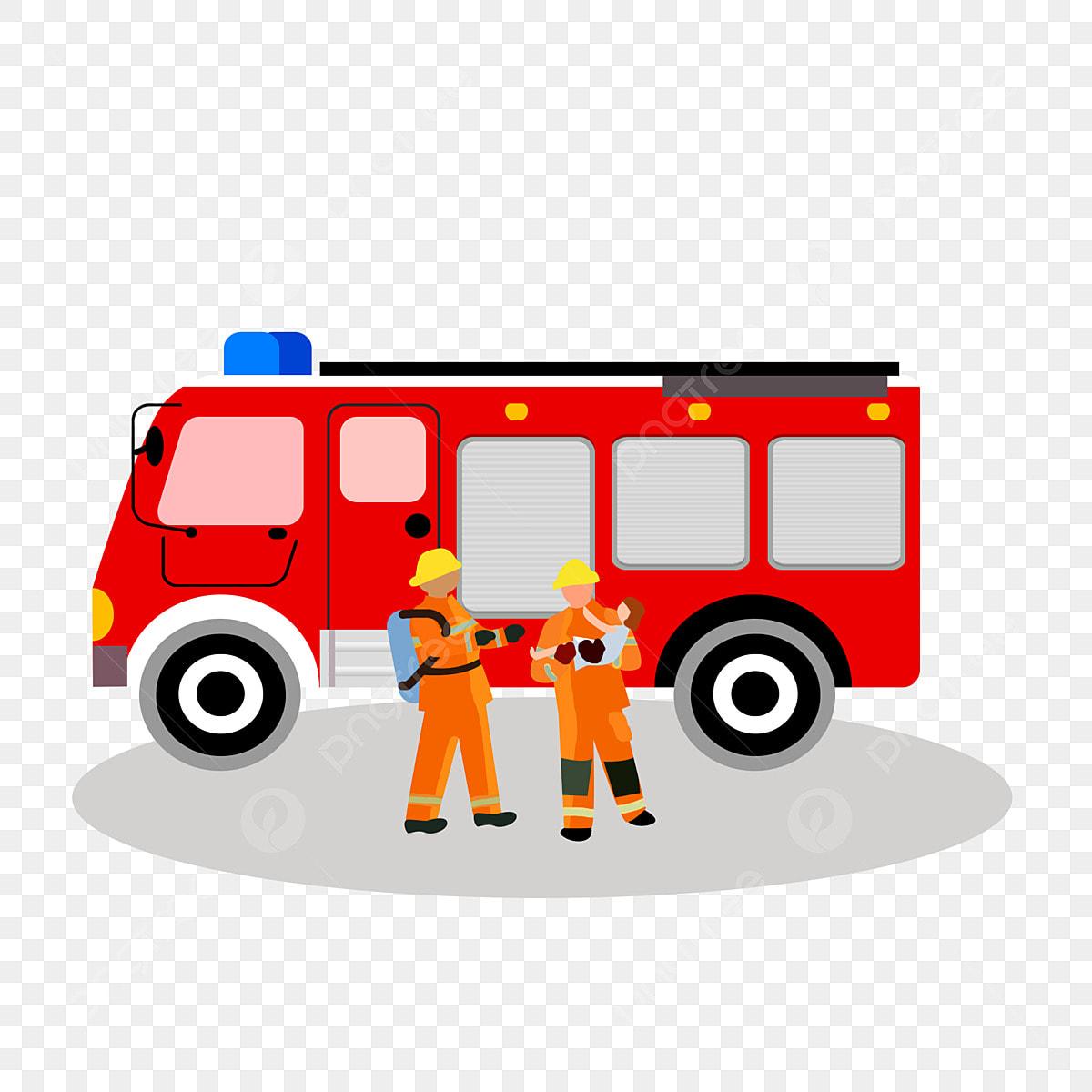 Gambar Vektor Truk Pemadam Kebakaran Kartun Yang Digambar Tangan Clipart Mobil Polisi Mobil Polisi Kartun Ambulans Kartun Png Transparan Clipart Dan File Psd Untuk Unduh Gratis