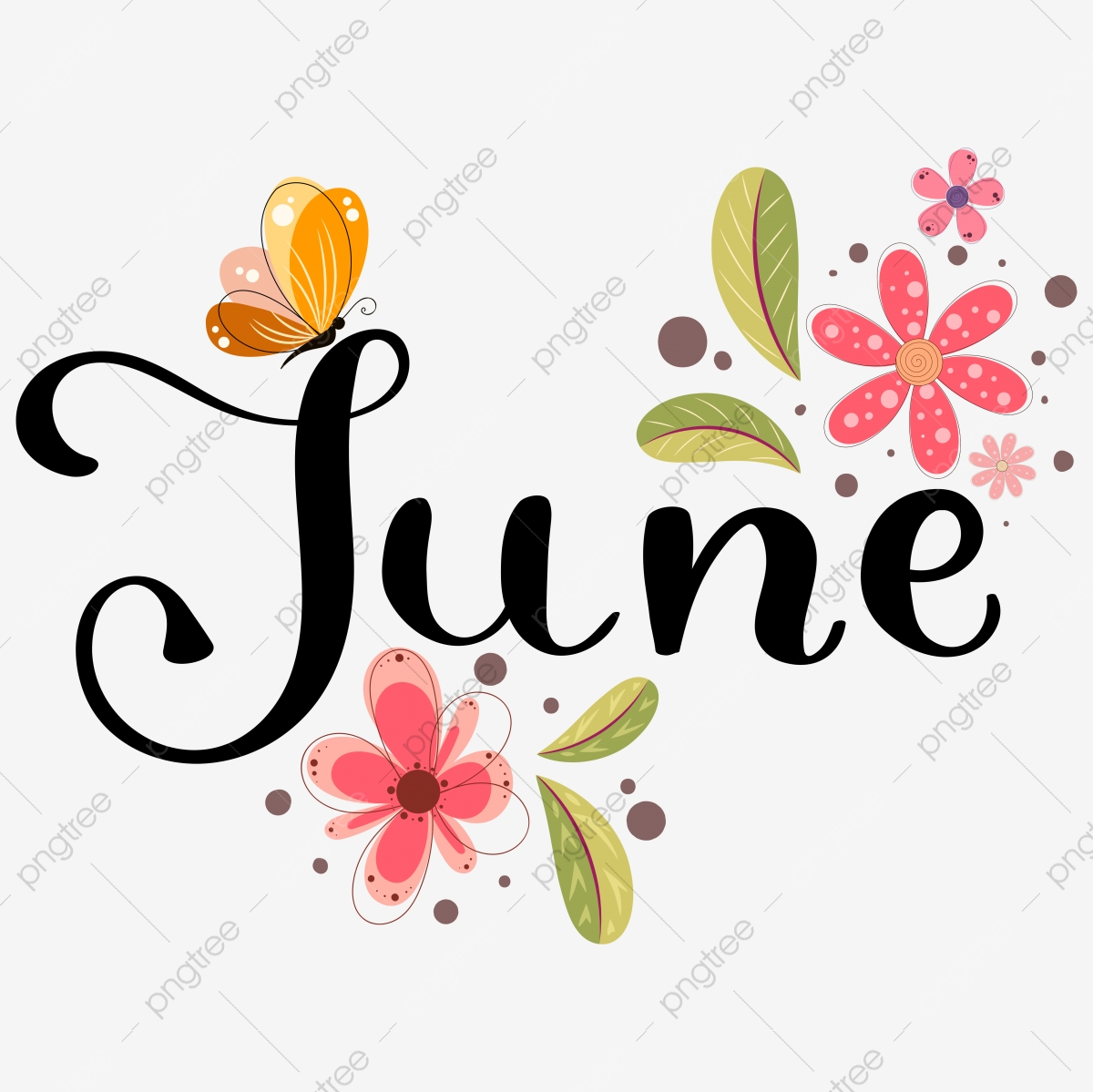 June Png Images Vector And Psd Files Free Download On Pngtree