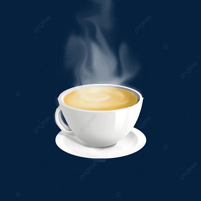 steam smoke coffee