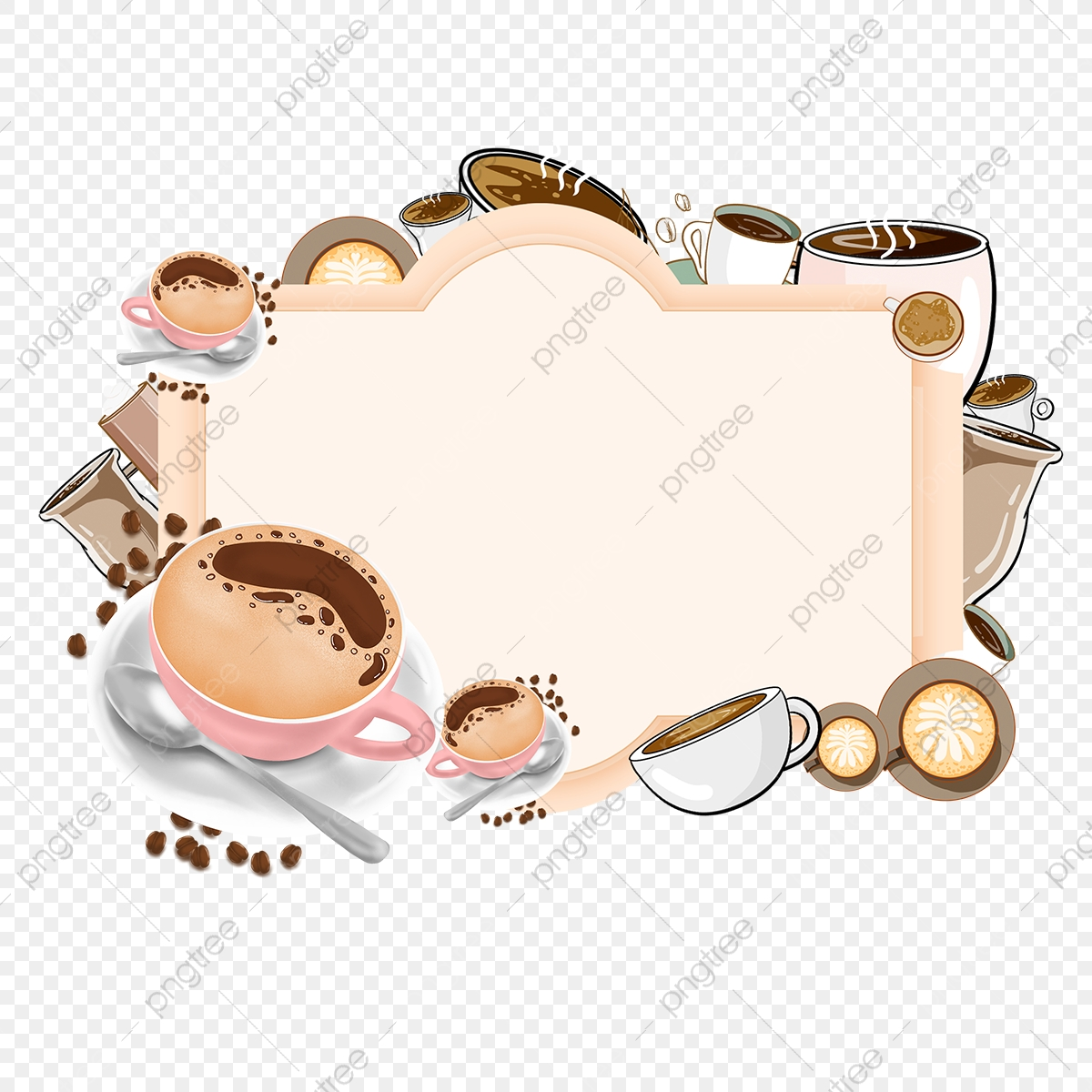 Coffee Borders Png Images Vector And Psd Files Free Download On Pngtree