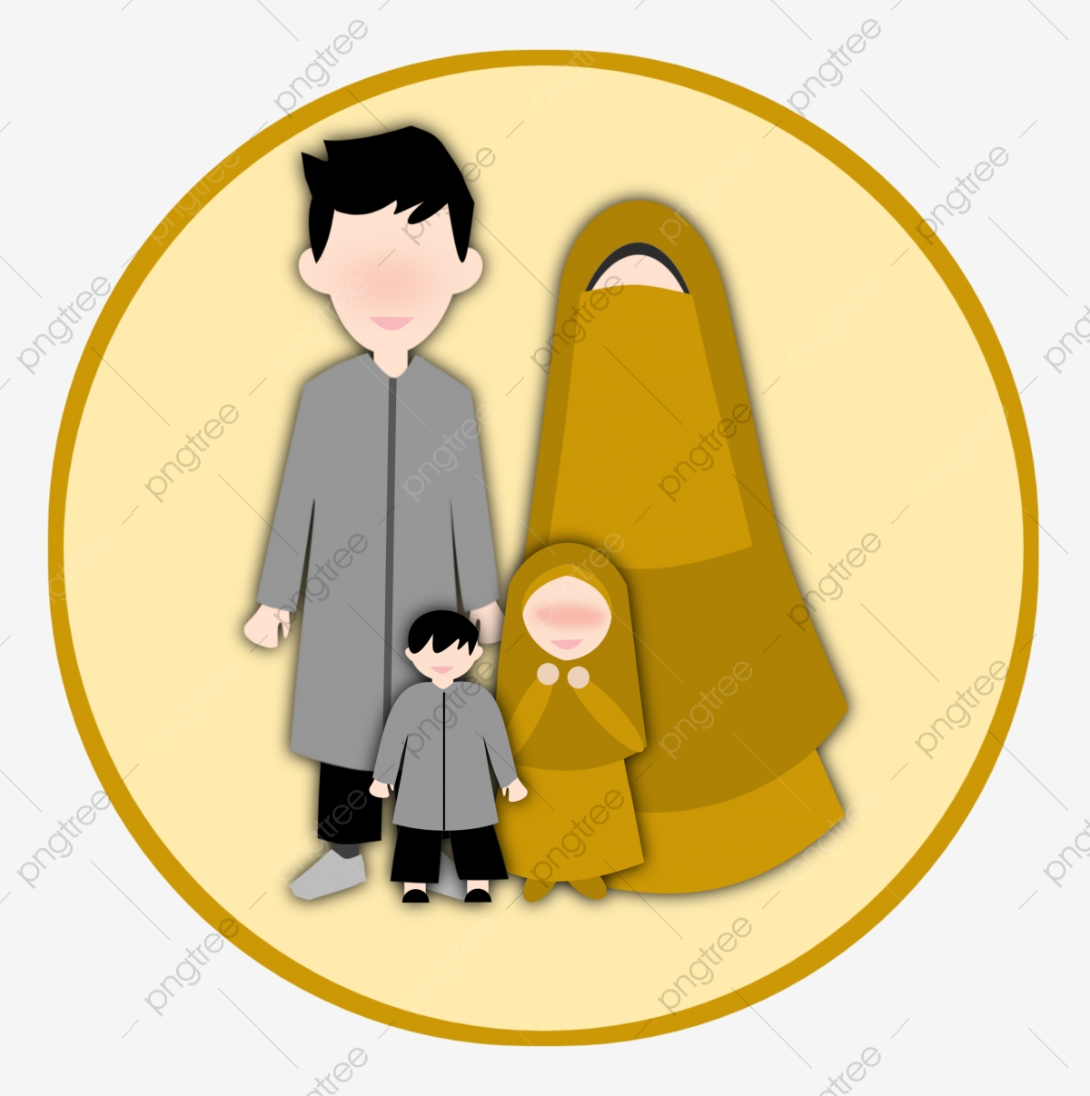 Kartun Muslimah Png Images Vector And Psd Files Free Download On Pngtree