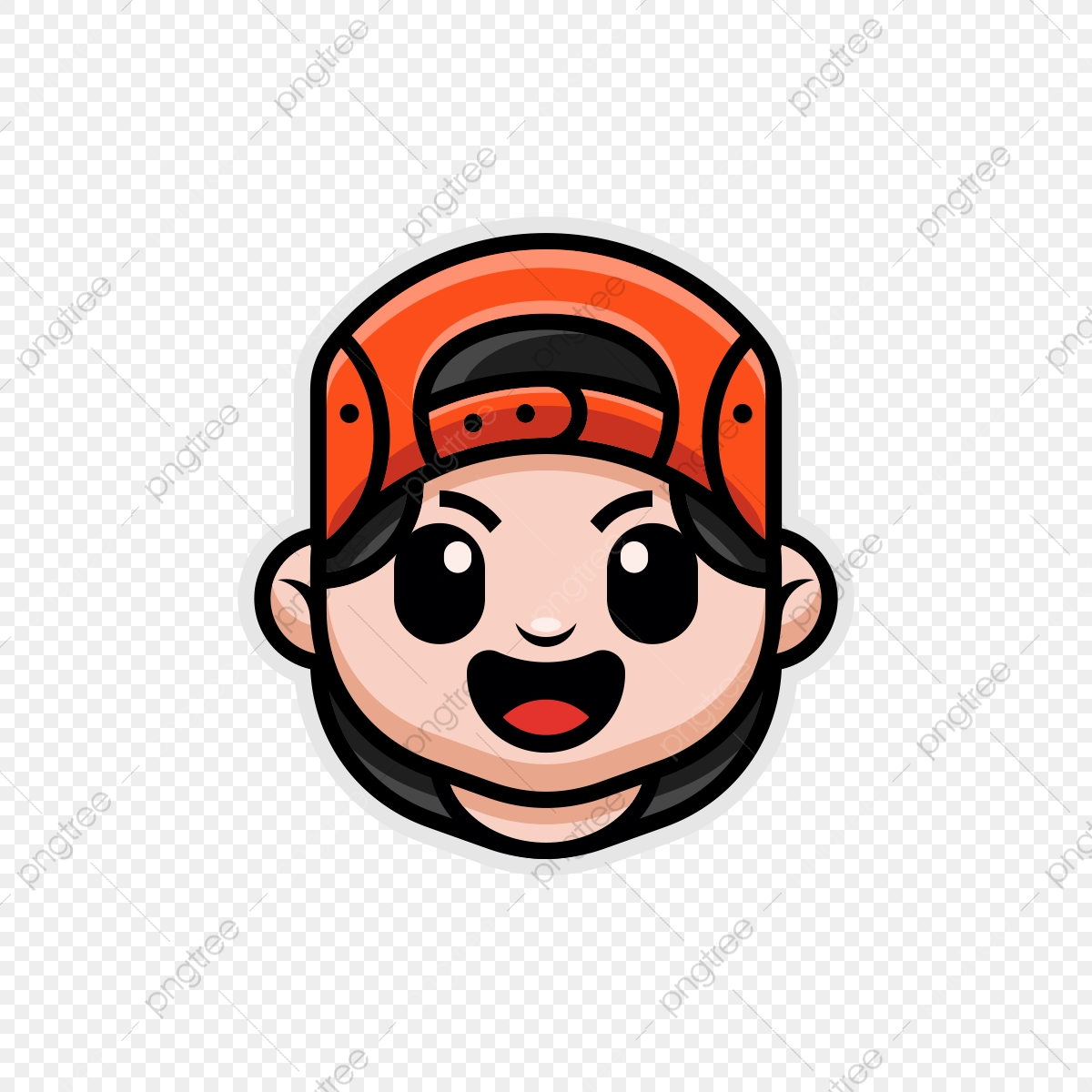 Cute Boy Cartoon Mascot Logo Cute Boy Cool Boy Mascot Png And Vector With Transparent Background For Free Download