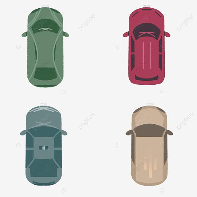 car top view clipart