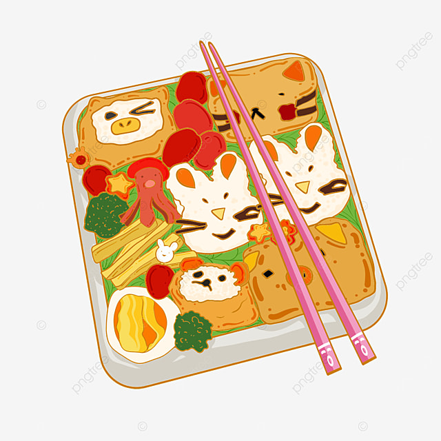 delicious japanese cute lunch box
