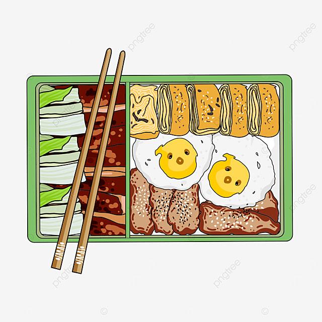 healthy japanese cute lunch box