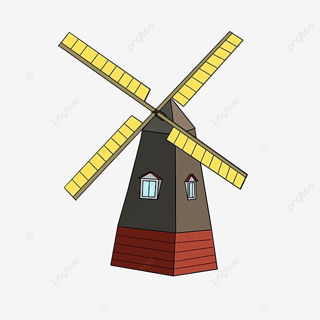 mill windmill clip art