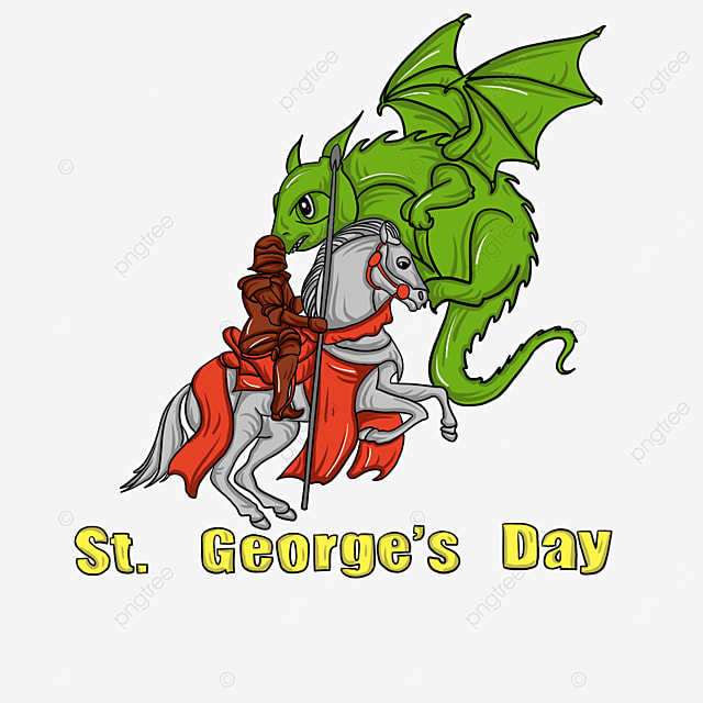 st georges day knights and green dragon
