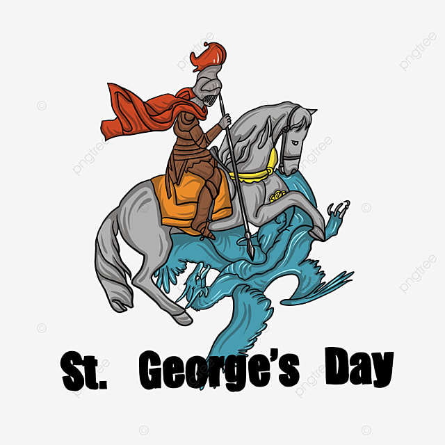 st georges knights and dragon fight