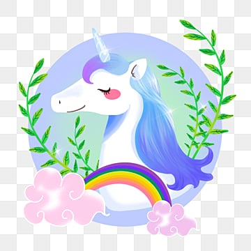 Exquisite Unicorn and rainbows on lilac background Dress