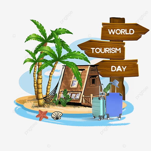 beach luggage world tourism day