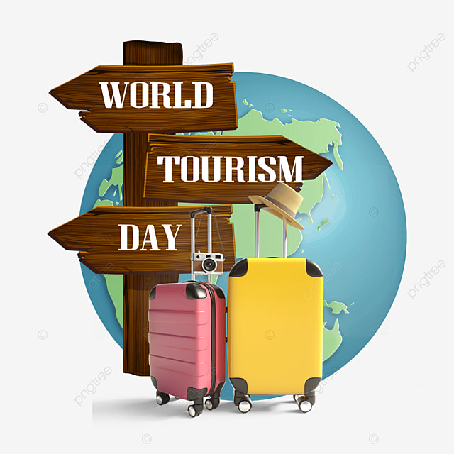 earth baggage box world tourism day road