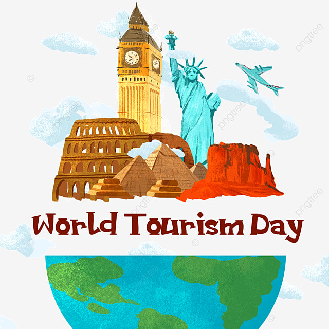 world tourism day statue