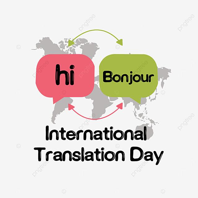 international translation day simple plane