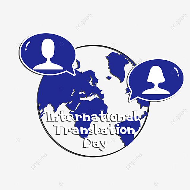 simple texture international translation day