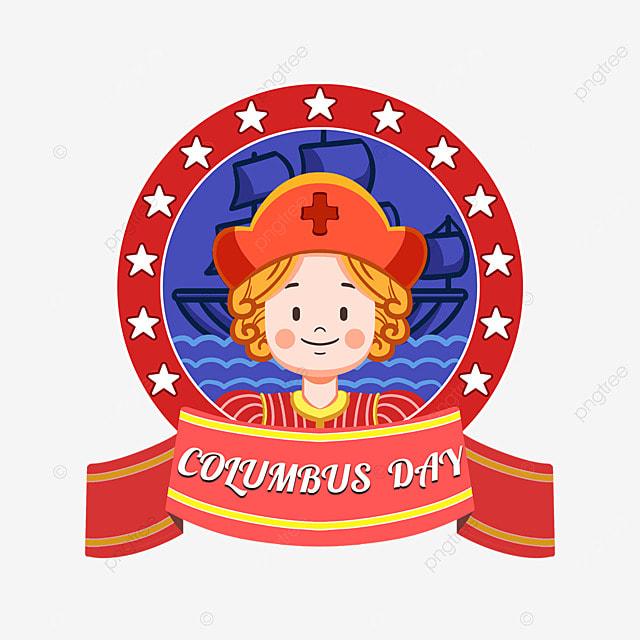 columbus day cartoon cute columbus