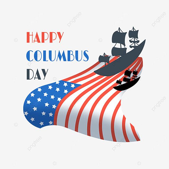 flag columbus day steamship