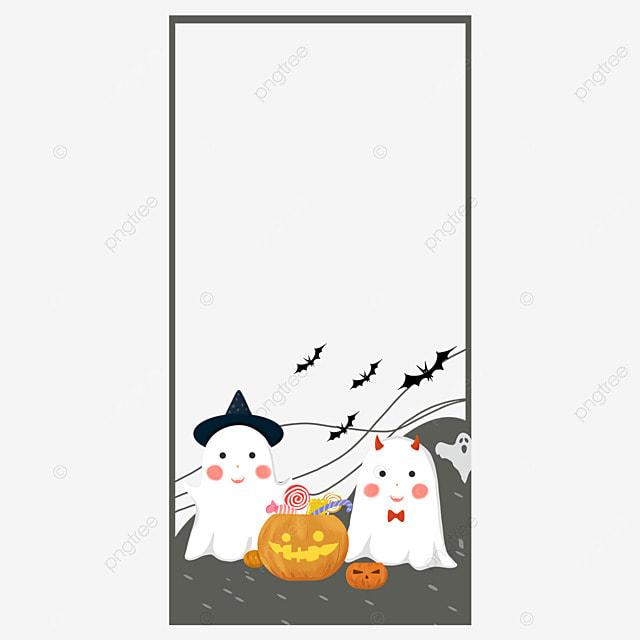 halloween instagram story cute border