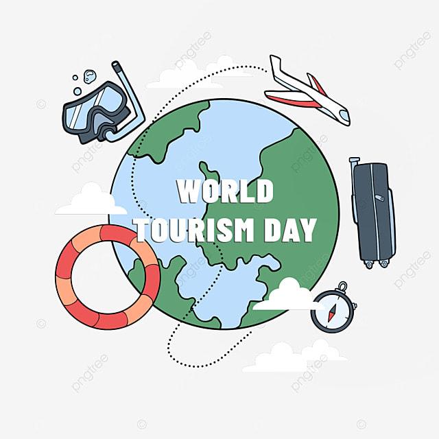 international tourism day summer travel compass