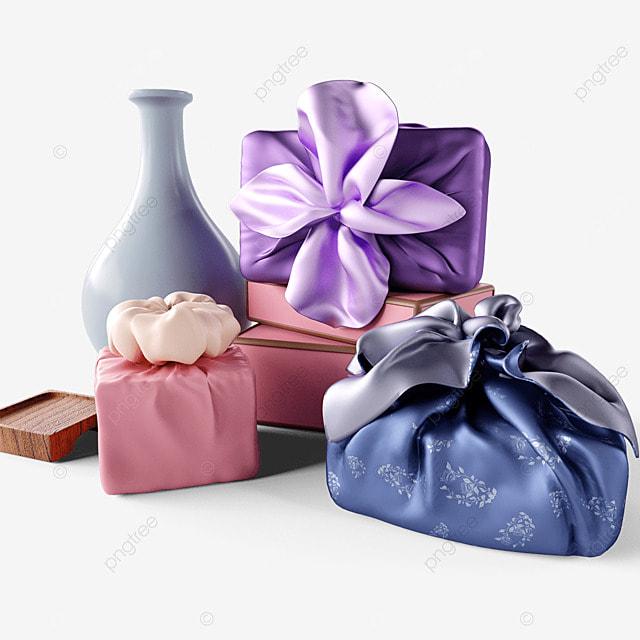 chuseok korean thanksgiving day 3d gift box