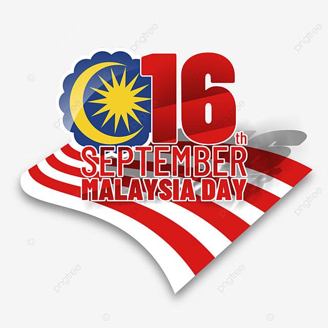 malaysia day creative flag poster design illustration