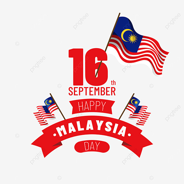 malaysia day ladder creative flag poster