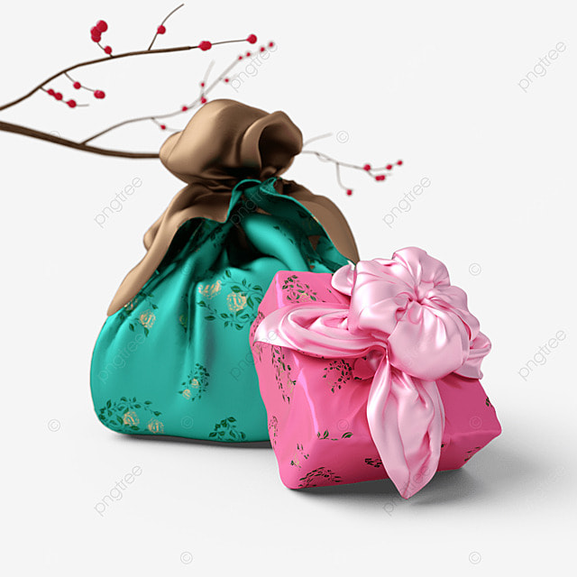 chuseok korean thanksgiving day pink green korean autumn eve gift box