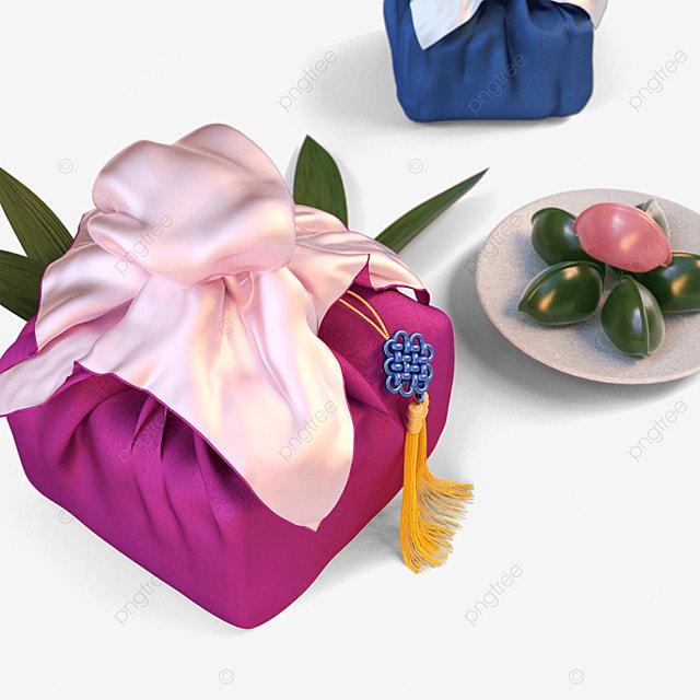 chuseok korean thanksgiving day pink korean autumn eve gift box