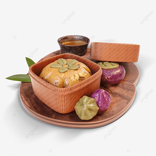 chuseok korean thanksgiving day three dimensional korean traditional muffin dessert