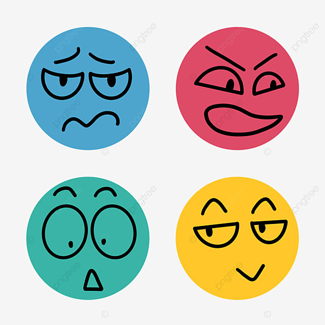 Crayon Emoji Emotions Simple Lines Line Crayon Expression Png Transparent Clipart Image And Psd File For Free Download