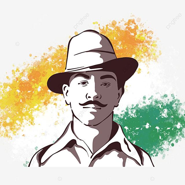 line style bhagat singh birthday
