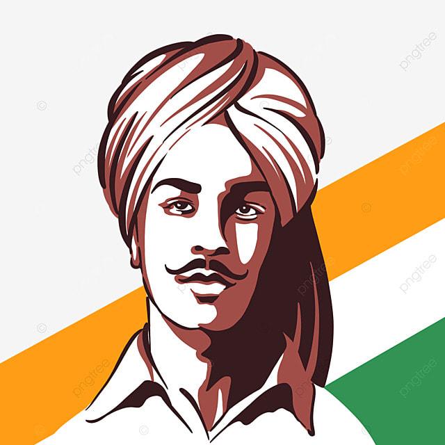 line style india bhagat singh birthday