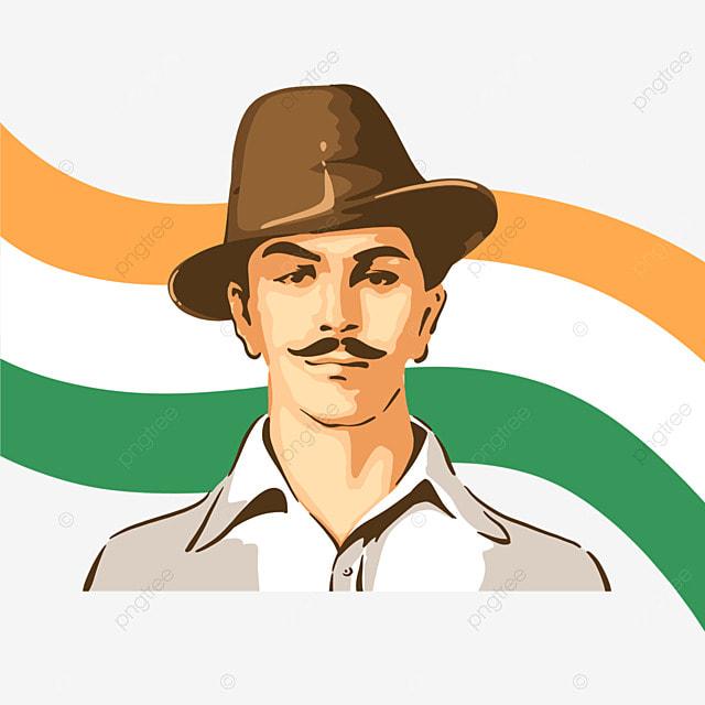 simple color india bhagat singh s birthday
