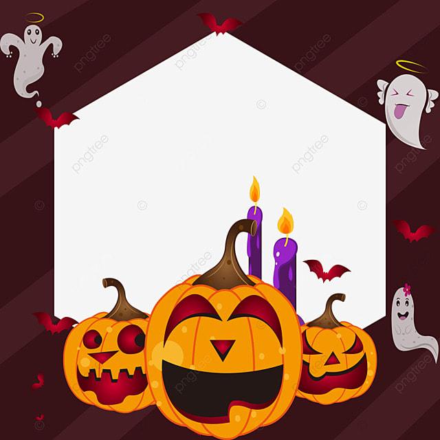 halloween facebook avatar red border