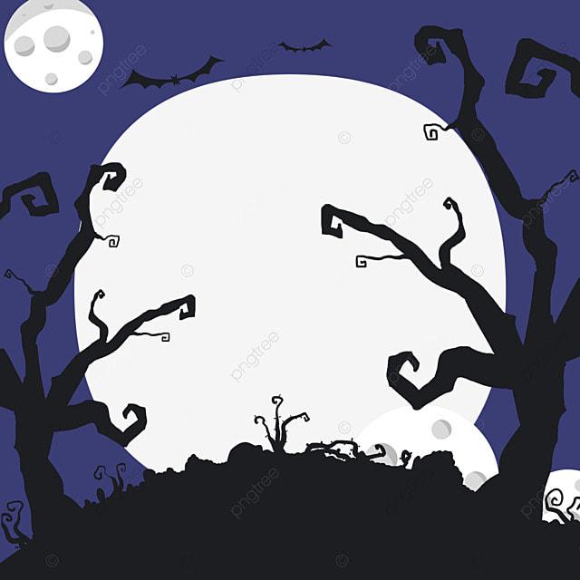 halloween facebook horror avatar border