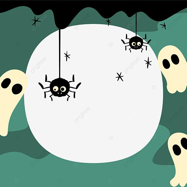 halloween ghost facebook avatar border