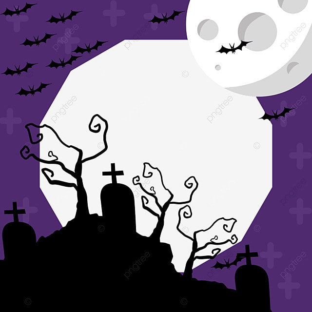 halloween outskirts facebook avatar border