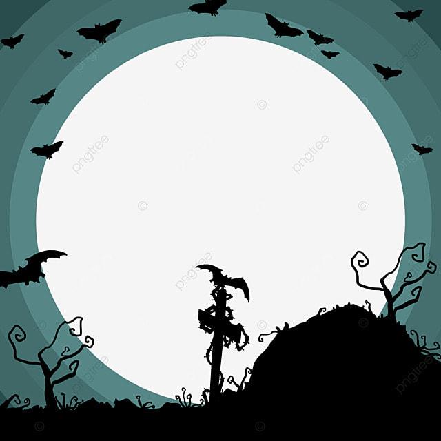 halloween wild facebook avatar border